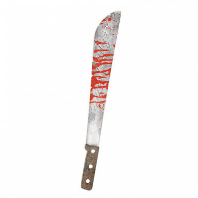 Bloody Slasher Machete - Fancy Dress Prop/Accessory