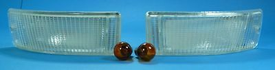 Indicators white Audi 80/90/Coupe/Cabriolet incl. Light bulbs