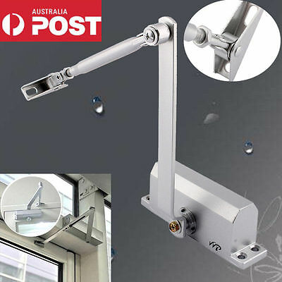 Hydraulic Automatic Fire Rated Adjustable Home Silver Door Closer Suits 25~45Kg
