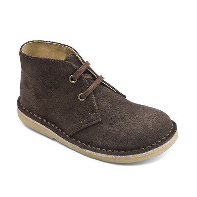Start-rite Colorado II Brown Suede Lace-up Classic Formal Boots F fitting