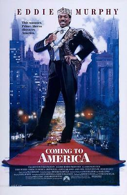 Coming To America Vintage Movie Poster  Film A4 A3 Art Print Cinema