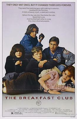 The Breakfast Club Movie Poster Film A4 A3 Art Print Cinema