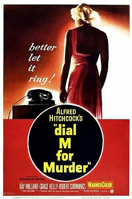 DIAL M FOR MURDER Alfred Hitchcock Minimal Poster Posteritty Art Print Stylised
