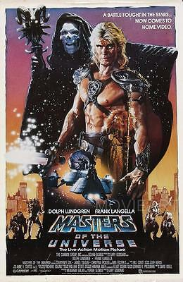 Masters Of The Universe Movie Poster Film A4 A3 Art Print Cinema