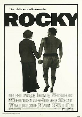 Rocky Vintage Movie Poster Film A4 A3 Art Print Cinema