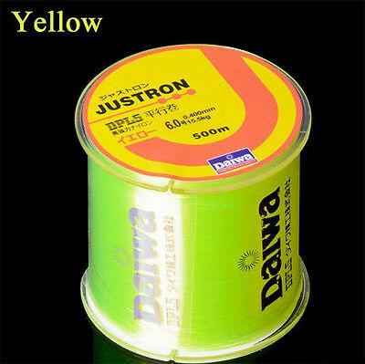 Filo da pesca Daiwa Japan Justron Yellow 500mt Spinning Surf Bolognese   CASG