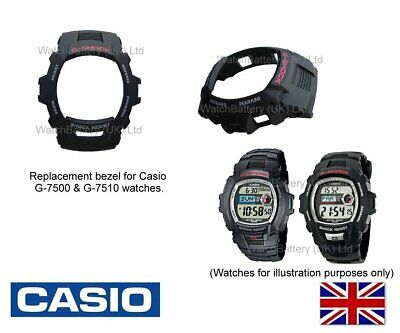 Genuine Casio Replacement Bezel for Casio G-7500 & G-7510 watches