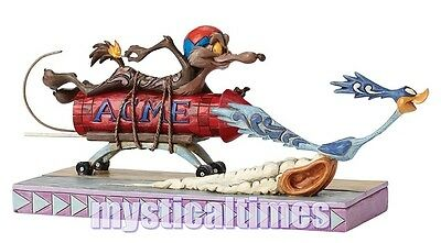 New * Wile Coyote Road Runner  * 4049387 Looney Tunes Figurine Ornament