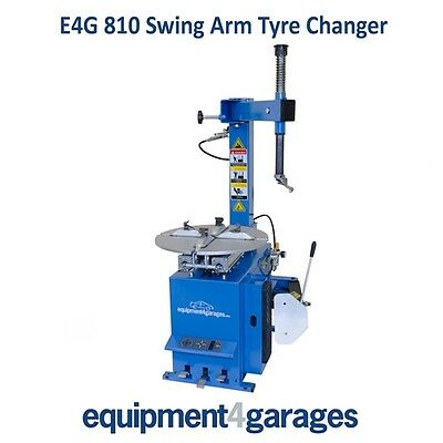 Semi Automatic Car Tyre Changer E4G 810