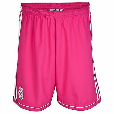 adidas Mens Gents Football Soccer Real Madrid Away Shorts Bottoms 2014-15