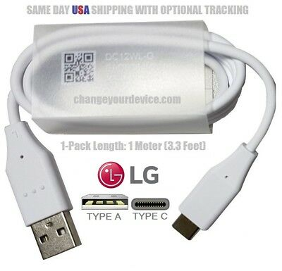 LG Authentic USB-A Type C Charger Cord Cable G5 G6 Q6 V30 Pixel XL Nexus 5x 6p