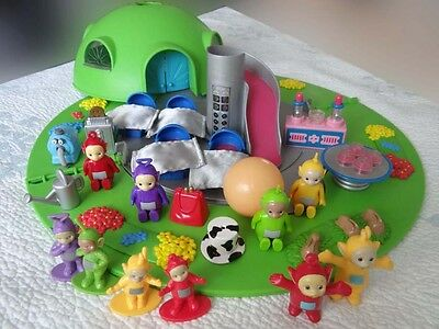 teletubby home hill playset dome house teletubbies � cad