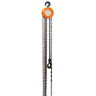 1 TON CHAIN BLOCK & TACKLE HOIST ENGINE LIFTING WINCH - 2.5m LIFT HEIGHT - NEW