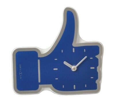 "Nextime Wanduhr/Tischuhr Mini ""Thumbs up - Liken"""