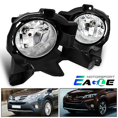 [Switch Wiring Kit+Bracket]For 2013 2014 2015 Toyota RAV4 Bumper Fog Lights