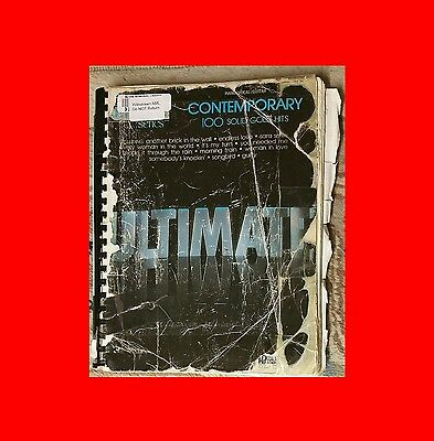 Fair Ex÷Library Hal Leonard-Music Book:contemporary Ultimate 100 Solid Gold Hits