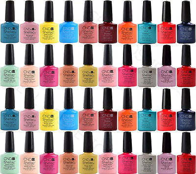 CND Shellac Power Polish Original Esmalte de uñas Colors, Top, Base 7,3ml ES