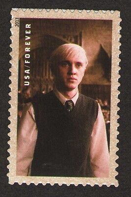 "US. 4841. (Forever) Draco Malfoy. Booklet ""Harry Potter"" Single. 2013. Mint. NH"