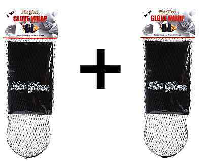 Unique Sports Baseball-Softball Deluxe Glove Wrap & Shaping Ball (2-Pack)