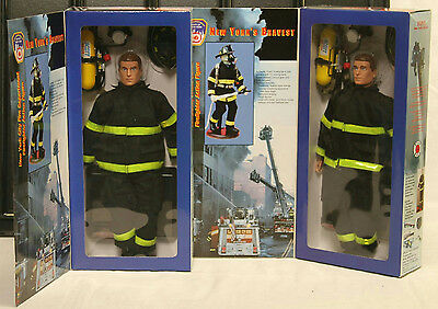 Fire Zone Fdny Real Heroes New York City Firefighter Action Figures #12320 New
