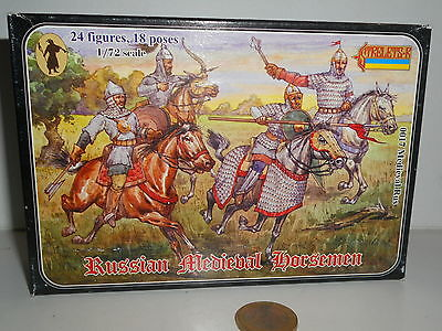 Strelets 0017  Medieval Rus Russian Horseman Scala 1/72 24 Fig 18 Poses