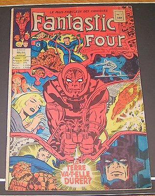 Fantastic Four #1 in french / francais Comics Soleil, Editions Heritage 1968