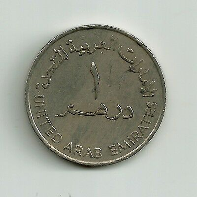 World Coins - United Arab Emirates 1 Dirham 1989 Coin KM# 6.1