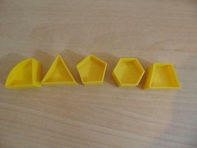 Tupperware Shape O Ball Replacement Parts #2,3,5,6,7