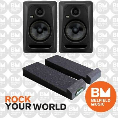 "2 x KRK Rokit 5 G3 Powered Active Monitor Speaker 50w Generation 3 5"" Pair - BM"