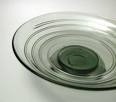 Vintage Whitefriars Trailed Ribbon Sea Green Bowl Barnaby Powell