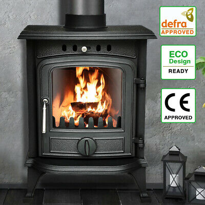 Metheringham 13KW MultiFuel WoodBurning Stove WoodBurner Cast Iron Log Burner