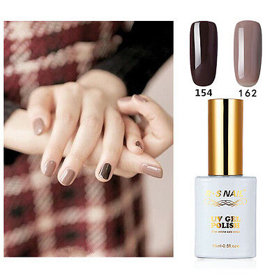 R.S NAIL 2PC 154-162 Gel Nail Polish UV LED Varnish Soak Off 0.5fl.oze Pro