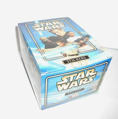 Star Wars Attack Clones Box 50 Packs Stickers Merlin