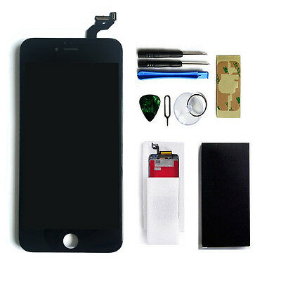 Black LCD Display+Touch Screen Digitizer Assembly Replacement for iPhone 6S Plus