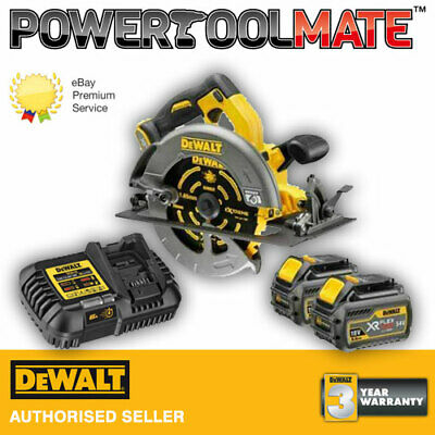 DeWalt DCS575T2 54v XR FLEXVOLT Circular Saw, 2x6.0Ah Batt, TSTAK Kit *IN STOCK*