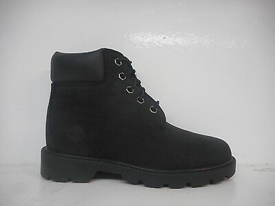 """Timberland 6"""" Classic Youth Preschool Winter Boot Black 10710 Select Size"""