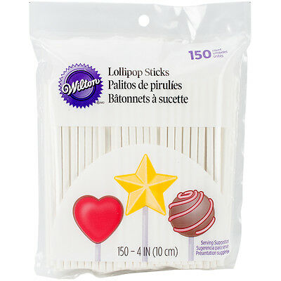 """Lollipop Sticks 4"""" 150/Pkg- , Set Of 3"""