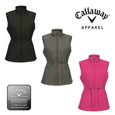 Callaway Golf Women/Ladies Winter Quilted Gilet-Bodywarmer-Vest - BFFB0057-New.