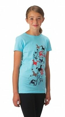 CLOSEOUT Kid's Leaping Horse Tee $25 (XLarge, Crystal)