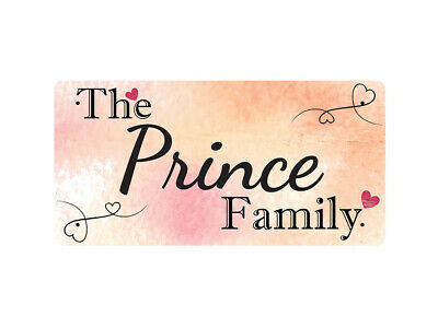 WP_FAM_760 The Prince Family - Metal Wall Plate
