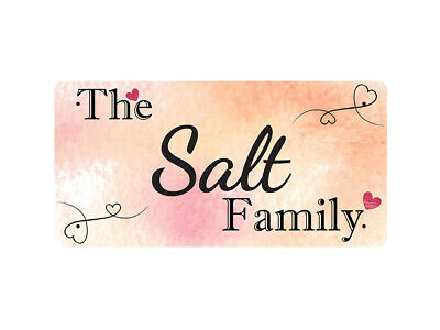 WP_FAM_821 The Salt Family - Metal Wall Plate