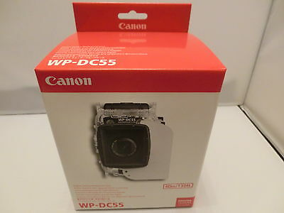 New Canon Waterproof Case WP-DC55  for PowerShot G7 X Mark II Digital Camera