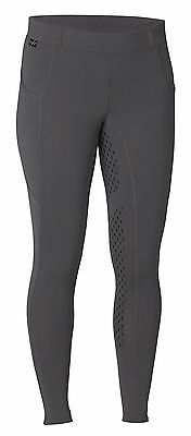 Kerrits Ice Fil Knee Patch Tech Tight (Small, Shale)