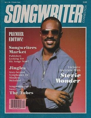 Songwriters mag 1983 vol 1 no 1  Stevie Wonder MINT CONDITION