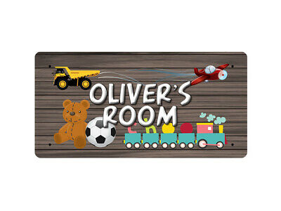 WP_ROOM_735 Oliver's Room - Metal Wall Plate