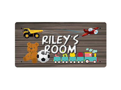 WP_ROOM_817 Riley's Room - Metal Wall Plate