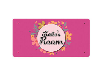 WP_ROOM_1544 Katie's Room - Metal Wall Plate