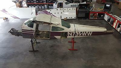 TR182 CESSNA FUSELAGE (W/ Data Tag, Logs, & Bill Of Sale)