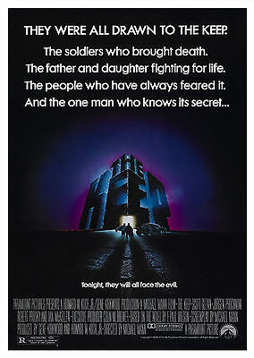 The Keep (1983) - A1/A2 POSTER **BUY ANY 2 AND GET 1 FREE OFFER**