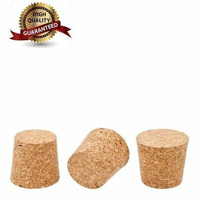 2x Cork Bungs for Home Made Wine or beer fit Demijohn Bottle size 40-33mm